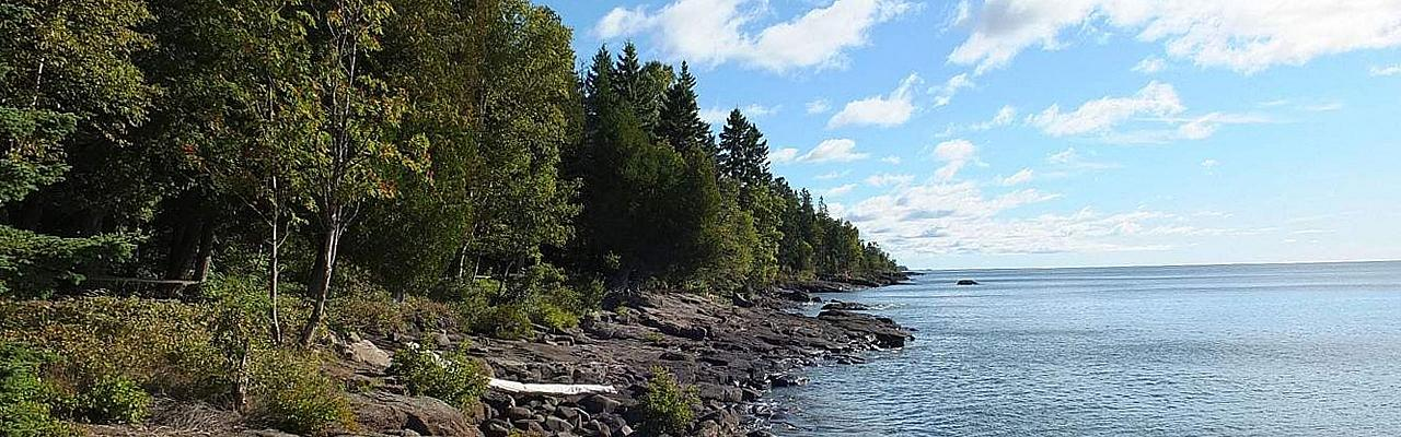 Lakeshore at Cascade River, Lake Superior, Minnesota Boundary Waters, Naturalist Journeys