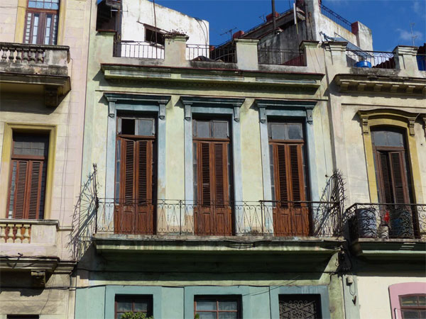 Cuban Building Facade, Cuba, Naturalist Journeys