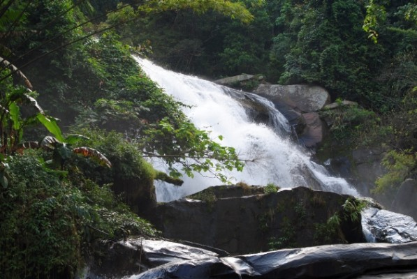 Doi Inthanon Waterfall, Thailand, Thailand Birding Tours, Asia Birding Tours, Naturalist Journeys