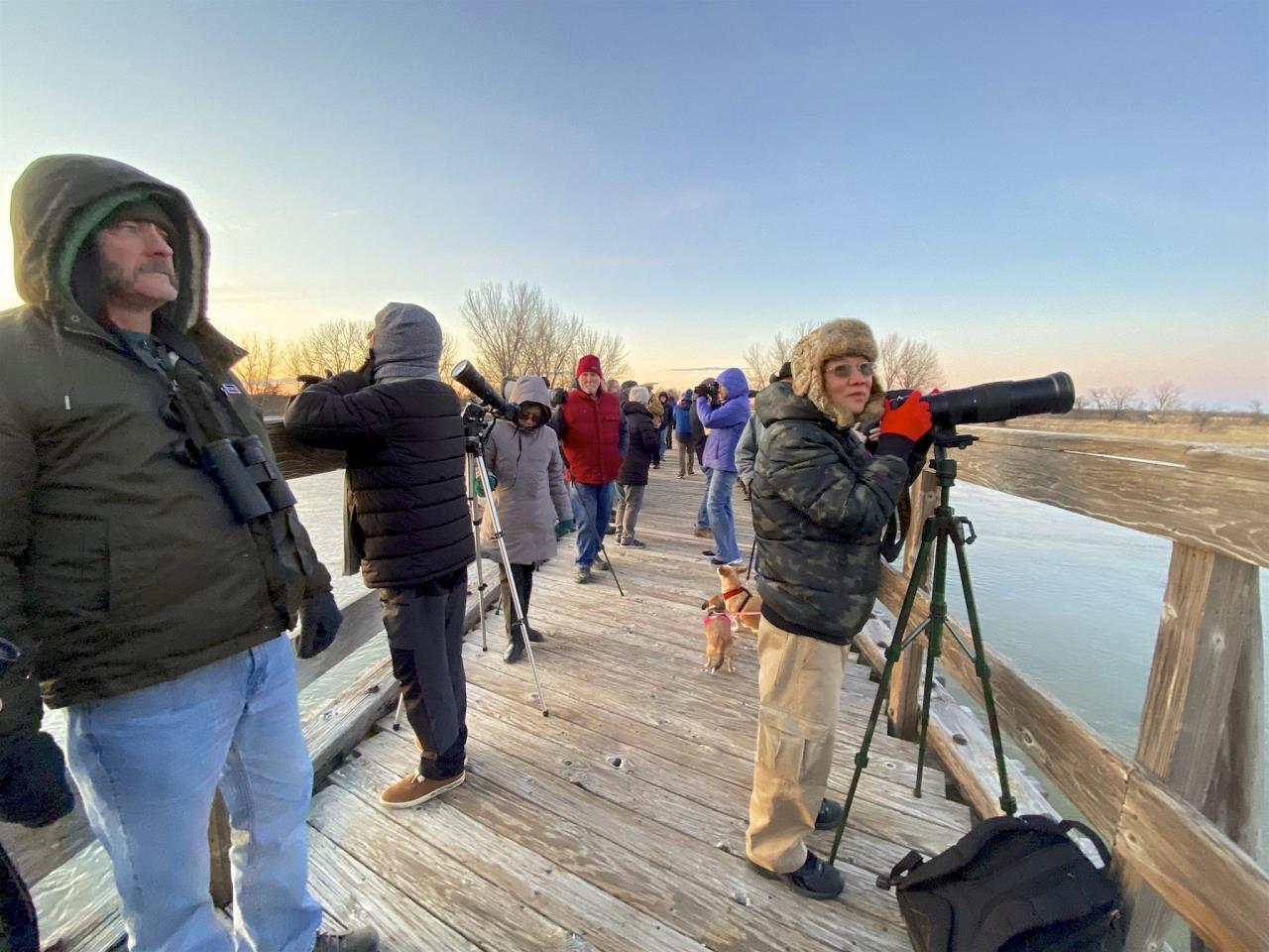 Nebraska, Platte River, Platte River Nature Tour, Sandhill Crane Nature Tour, Platte River Birding Tour, Naturalist Journeys